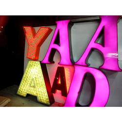 LED Letters Sign Board