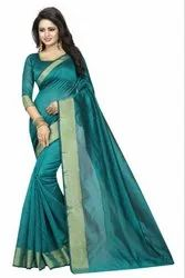 Ligalz Presents Chanderi Cotton Saree