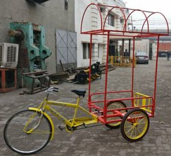 Front Side Drive Cart Tricycle For Loading Delivery
