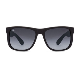 9ba1935f5e Ray-Ban RB4165 Small (Size-55) Matte Black Blue Gradient Men Sunglasses