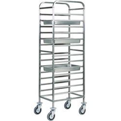 MS Tray Rack Trolley