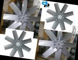 6 Blades Aluminum Impeller Dia 1000 MM