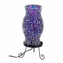 Multicolor Handmade Glass Mosaic Table Lamp for Home & Hotel Decoration