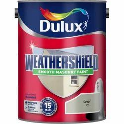 Green Dulux Weathershield Smooth Masonry Paint for Wall