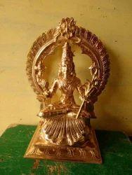 Sri Lalitha Tripura Sundari 12 Inches Panchaloham