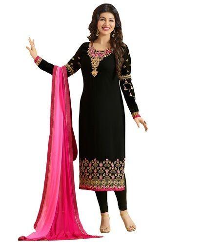 24329271b03 Georgette Women Daily Outwear Salwar Kameez Suits