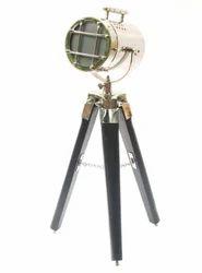Vintage Nautical Searchlight Lamp