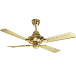 Two Tone Nickel Gold Havells Florence Fan, 75 W