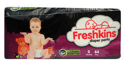 White Freshkins Diapers 44 Count, XXL