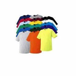 Unisex Polyester Half Sleeve Promotional T Shirt