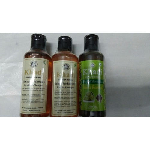 Shivalik Khadi Herbal Shampoo, Pack Size: 200 Ml, Packaging Type: Plastic Bottle