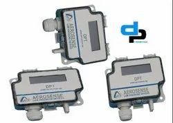 Aerosense Model DPT 2500-R8-3W Differential Pressure Transmitter Range 0-500 Pascal