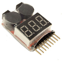 LiPo Battery Voltage Tester And Low Voltage Buzzer Alarm