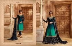 1 Color 3002 Designer Lehenga Style Suit, For Party Wear, Dry clean