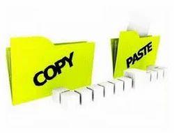 Copy Paste Job Work