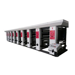 3 Color Rotogravure Printing Making Machine