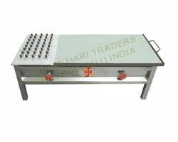 Shree Hari Horizontal Puffer Burner Plate For Commercial