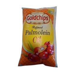 Goldchips Palmolein Oil Packaging Type Pouch Id 14421620288