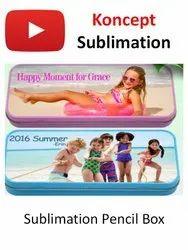 Sublimation PlasticPencil Box