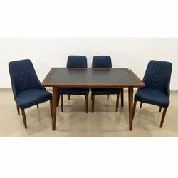 Wooden 2 to 4 Feet Dining Table