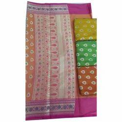 Silk Party Wear Women Designer Saree, 6.3 m (with blouse piece)
