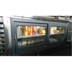 Stainless Steel Drinks Bar Fridge
