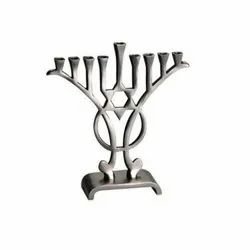Wholesale Metal Menorah Hanukkiah Candleholder