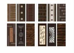 Wood Micro Coated Doors For Home, Size: Custom