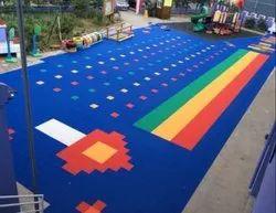 PP Interlocking Modular Floor for Sports Fields