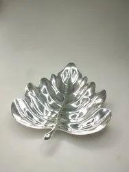 Banana Leaf Silver Plate FB1069
