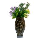 Alphabet Embossed Vase