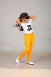 Cotton Casual Wear Kids Legging, 26 to 36