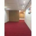 Red Non Woven Floor Carpet