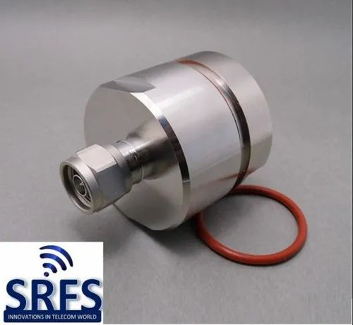 N Male Connector for 1-5/8 Feeder Cable - Signity RF