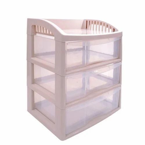 pink klaxon plastic storage drawer rack rs 1176 piece krios rh indiamart com