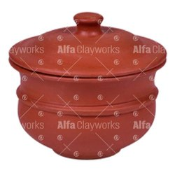 Earthen Clay Chatti with Lid