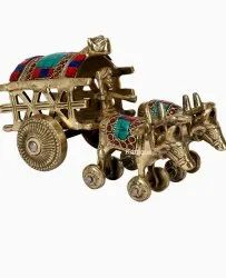Bull Cart Brass Handicrafts