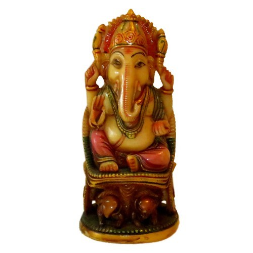 Incredible Sng Multicolor Resin Chair Ganesha Statue Id 2743643755 Complete Home Design Collection Barbaintelli Responsecom