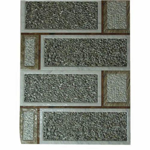 Gloss White Wall Modern Tile Hari Om