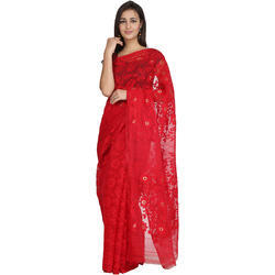 Traditional Stitch Saree