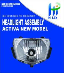 Hilex Activa New Head Light Assembly