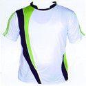 Round Neck Polyester Sports T Shirt