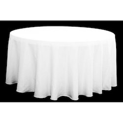 Cotton White Table Cover