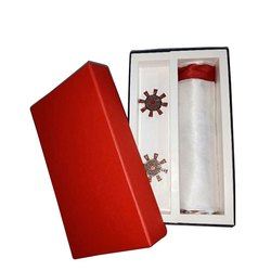 Red Rectangular Cuffling Box