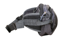 Waist Pouch Belt, Black /grey Color