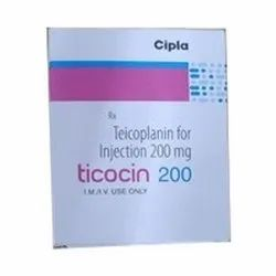 Ticocin 200 Injection