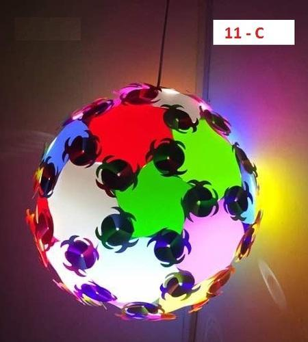 jig saw iq puzzle designer lamp shade rainbow is the first of