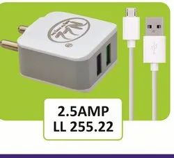 LL 255.22 Travel Double USB Mobile Charger