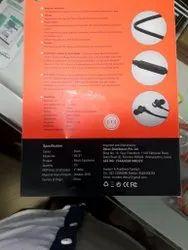 Black Hi-Smart Bluetooth Headphone