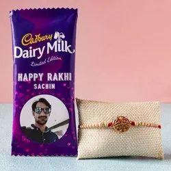 Personalized Chocolate - Rakhi Gift